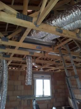installation electrique climatisation gainable et splits alarme dans une villa neuve sur. Black Bedroom Furniture Sets. Home Design Ideas